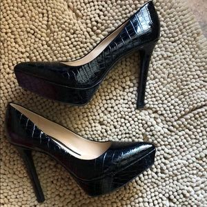 Gianna Bini Black patent leather Heels